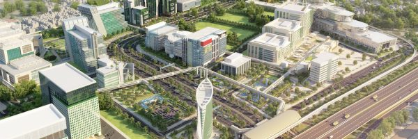DLF-Cyber-City-Aerial-view